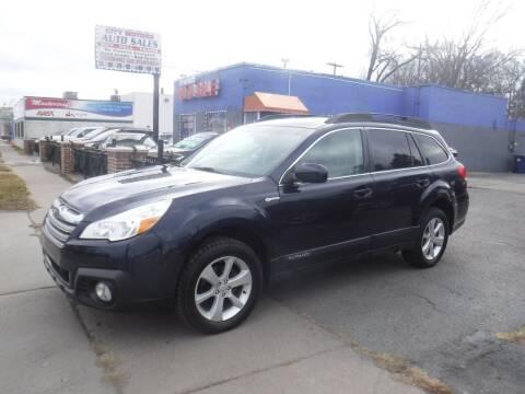 2013 Subaru Outback for sale at City Motors Auto Sale LLC in Redford MI