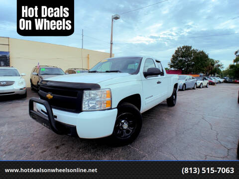 2011 Chevrolet Silverado 1500 for sale at Hot Deals On Wheels in Tampa FL