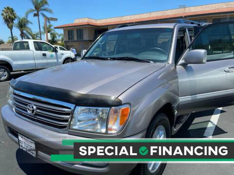 2005 Toyota Land Cruiser for sale at Coast Auto Motors in Newport Beach CA