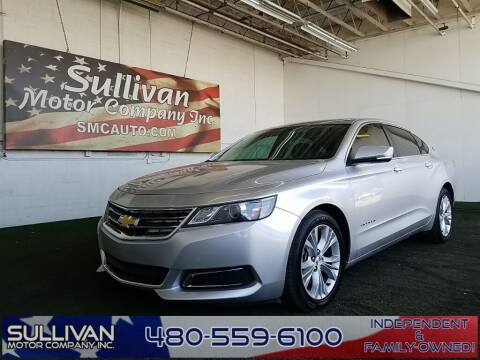 2014 Chevrolet Impala for sale at SULLIVAN MOTOR COMPANY INC. in Mesa AZ