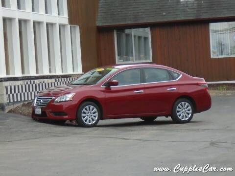 2014 Nissan Sentra for sale at Cupples Car Company in Belmont NH