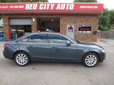 2010 Audi A4 for sale at Red City  Auto in Omaha NE