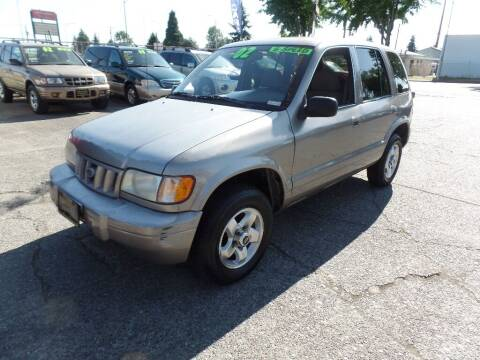 2002 Kia Sportage for sale at Gold Key Motors in Centralia WA