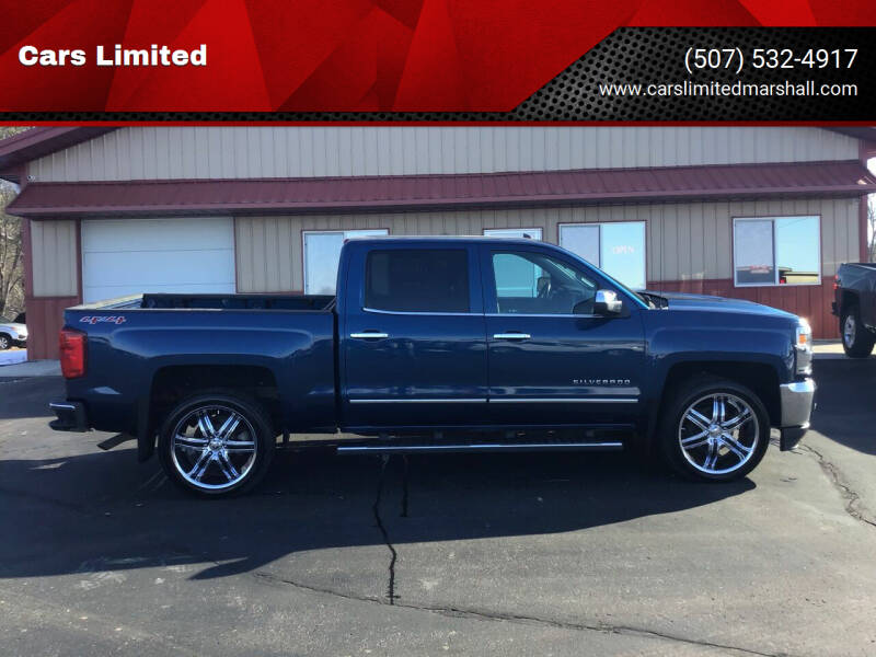 2017 Chevrolet Silverado 1500 for sale at Cars Limited in Marshall MN
