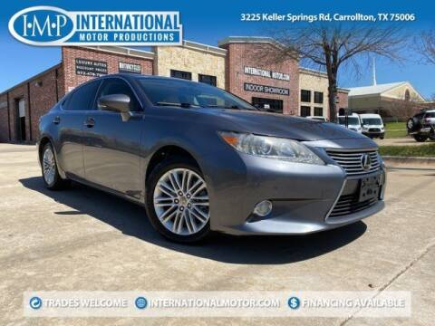 2013 Lexus ES 350 for sale at International Motor Productions in Carrollton TX