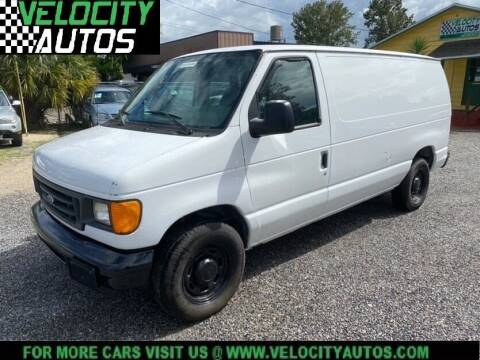 2006 Ford E-Series Cargo for sale at Velocity Autos in Winter Park FL