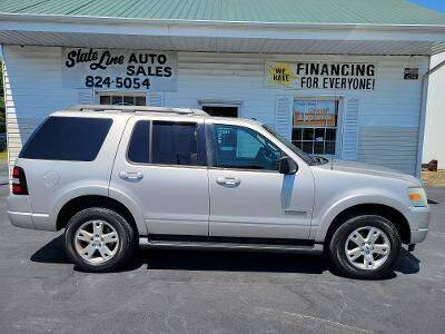 2008 Ford Explorer for sale at STATE LINE AUTO SALES in New Church VA