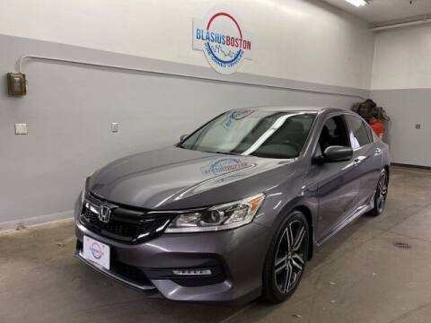 2016 Honda Accord for sale at WCG Enterprises in Holliston MA