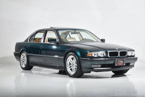 1998 BMW 7 Series for sale at Motorcar Classics in Farmingdale NY