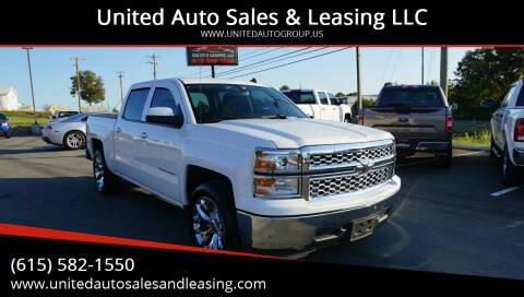 2014 Chevrolet Silverado 1500 for sale at United Auto Sales & Leasing LLC in La Vergne TN