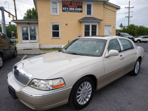 2005 Lincoln Town Car for sale at Top Gear Motors in Winchester VA
