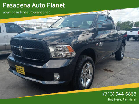 2013 RAM Ram Pickup 1500 for sale at Pasadena Auto Planet in Houston TX