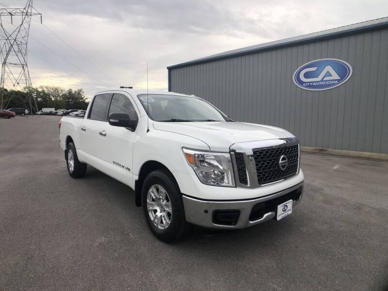2018 Nissan Titan for sale at ADKINS CITY AUTO in Murfreesboro TN