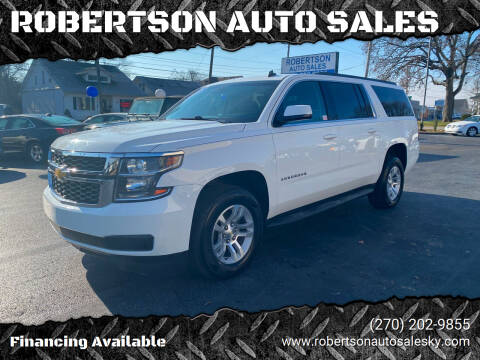 2015 Chevrolet Suburban for sale at ROBERTSON AUTO SALES in Bowling Green KY