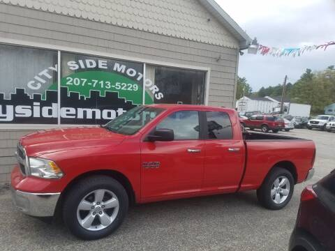 2013 Dodge Ram Pickup 1500 for sale at CITY SIDE MOTORS in Auburn ME