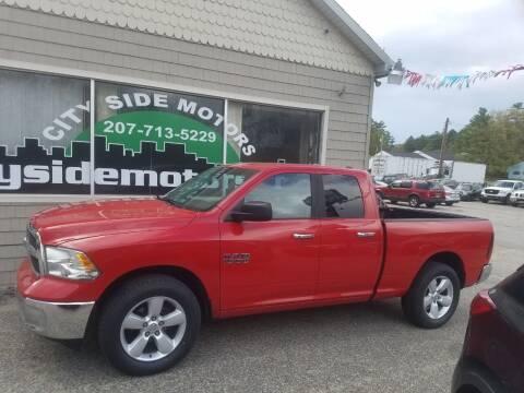 2013 RAM Ram Pickup 1500 for sale at CITY SIDE MOTORS in Auburn ME