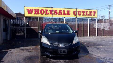 2009 Honda Fit for sale at LONG BROTHERS CAR COMPANY in Cleveland OH