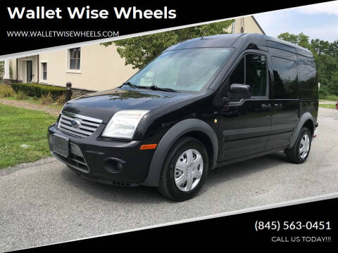 2011 Ford Transit Connect for sale at Wallet Wise Wheels in Montgomery NY
