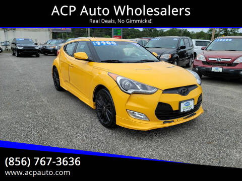 2013 Hyundai Veloster for sale at ACP Auto Wholesalers in Berlin NJ
