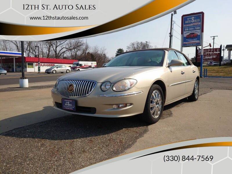 2009 Buick LaCrosse for sale at 12th St. Auto Sales in Canton OH