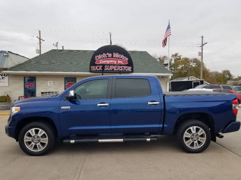 2014 Toyota Tundra for sale at DICK'S MOTOR CO INC in Grand Island NE