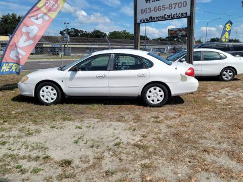 2001 Ford Taurus for sale at Warren's Auto Sales, Inc. in Lakeland FL