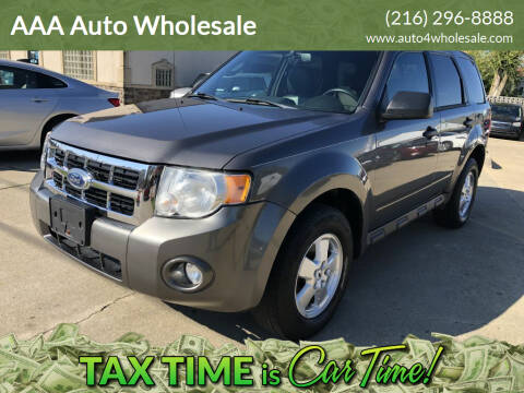 2012 Ford Escape for sale at AAA Auto Wholesale in Parma OH