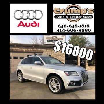 2013 Audi Q5 for sale at CRUMP'S AUTO & TRAILER SALES in Crystal City MO