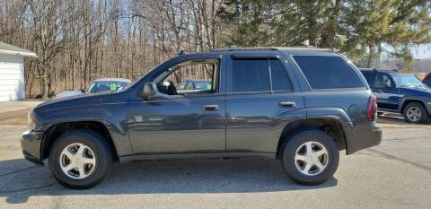 2006 Chevrolet TrailBlazer for sale at Larrys Used Cars in Hartford MI