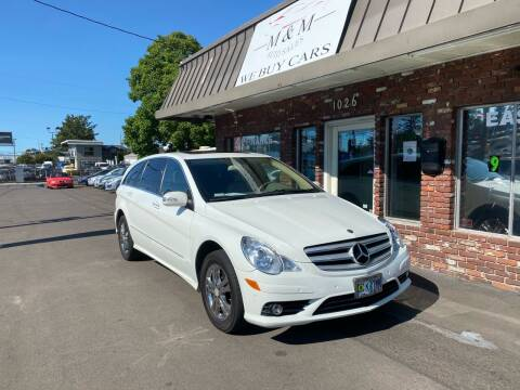 2008 Mercedes-Benz R-Class for sale at M&M Auto Sales in Portland OR