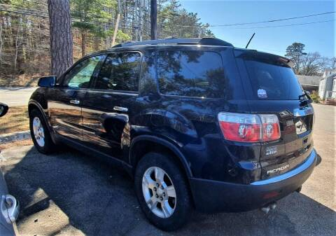 2012 GMC Acadia for sale at MBM Auto Sales and Service in East Sandwich MA