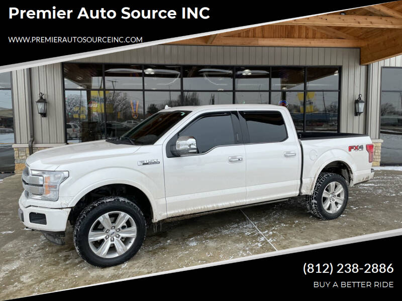 2018 Ford F-150 for sale at Premier Auto Source INC in Terre Haute IN