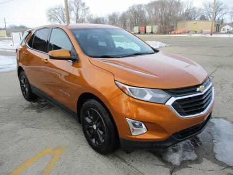 2018 Chevrolet Equinox for sale at RJ Motors in Plano IL