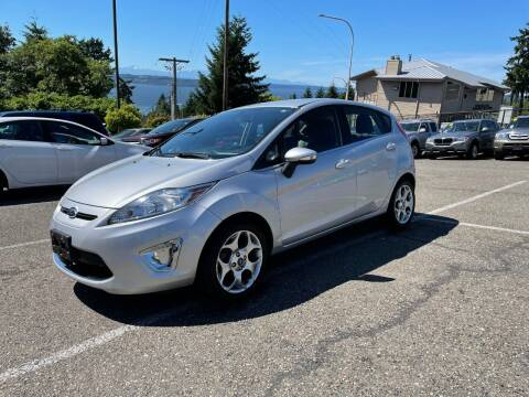 2013 Ford Fiesta for sale at KARMA AUTO SALES in Federal Way WA