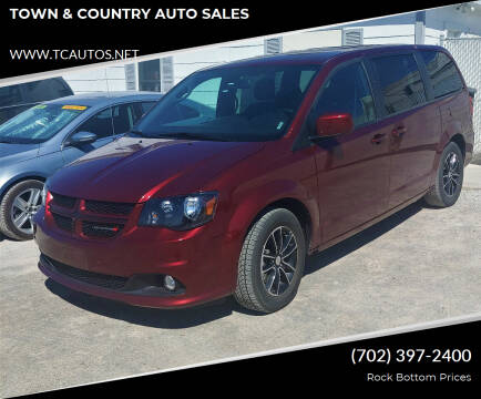 2019 Dodge Grand Caravan for sale at TOWN & COUNTRY AUTO SALES in Overton NV