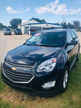 2017 Chevrolet Equinox for sale at Pioneer Auto in Ponca City OK