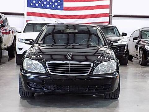 2005 Mercedes-Benz S-Class for sale at Texas Motor Sport in Houston TX