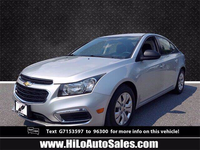2016 Chevrolet Cruze Limited for sale in Frederick, MD
