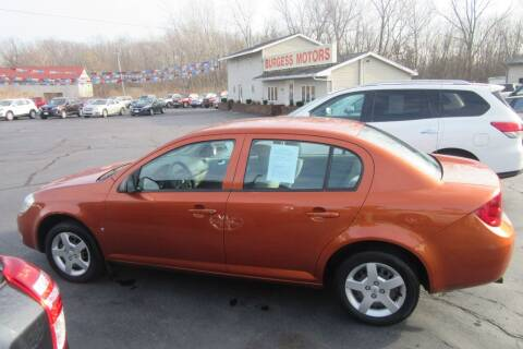 2007 Chevrolet Cobalt for sale at Burgess Motors Inc in Michigan City IN