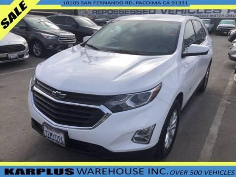 2018 Chevrolet Equinox for sale at Karplus Warehouse in Pacoima CA