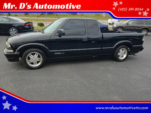2002 Chevrolet S-10 for sale at Mr. D's Automotive in Piney Flats TN