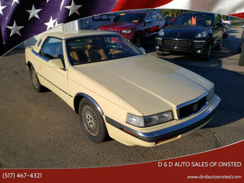 1989 Chrysler TC for sale at D & D Auto Sales Of Onsted in Onsted MI