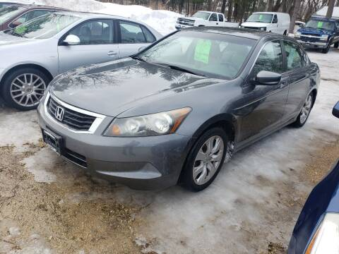 2009 Honda Accord for sale at Northwoods Auto & Truck Sales in Machesney Park IL