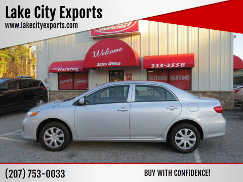 2013 Toyota Corolla for sale at Lake City Exports in Auburn ME