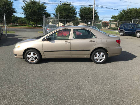 2005 Toyota Corolla for sale at Mike's Auto Sales of Charlotte in Charlotte NC