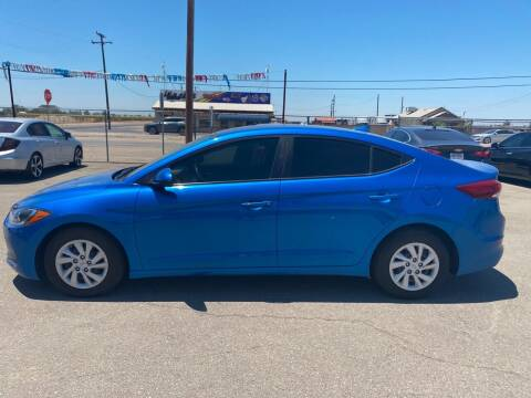 2017 Hyundai Elantra for sale at First Choice Auto Sales in Bakersfield CA