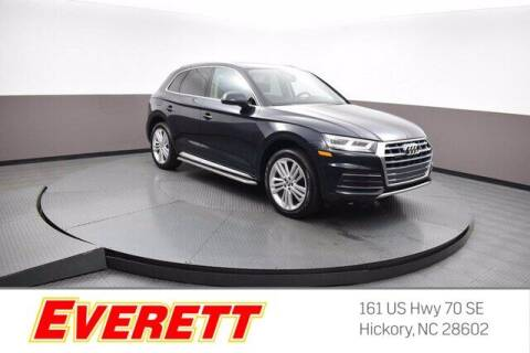 2019 Audi Q5 for sale at Everett Chevrolet Buick GMC in Hickory NC