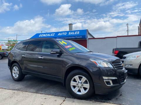 2014 Chevrolet Traverse for sale at Gonzalez Auto Sales in Joliet IL