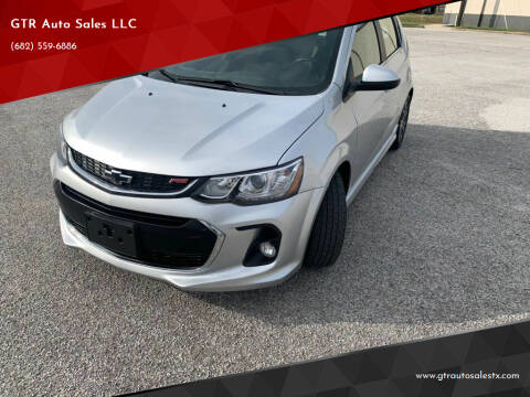 2018 Chevrolet Sonic for sale at GTR Auto Sales LLC in Haltom City TX