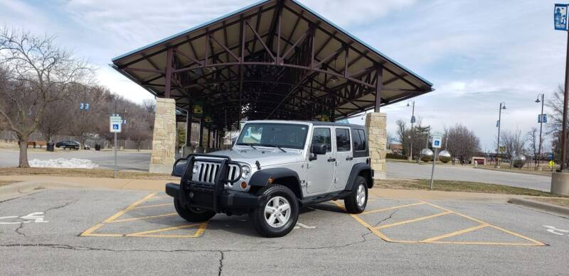 2008 Jeep Wrangler Unlimited for sale at D&C Motor Company LLC in Merriam KS